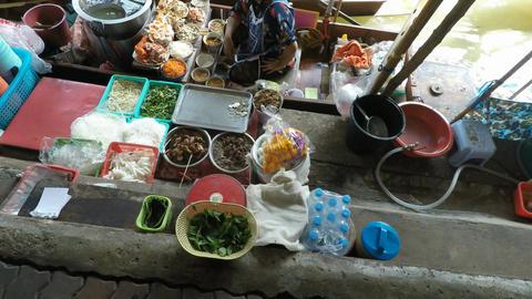 damnoen saduak floating market Footage