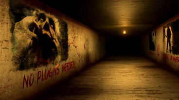 HALL OF HORROR stock footage