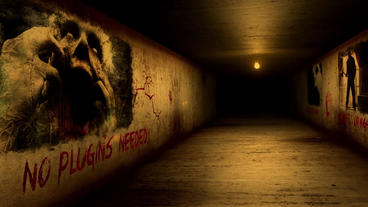 HALL OF HORROR After Effects Template