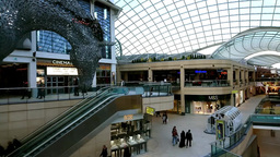 Time Lapse At Queen S Arcade,Shopping Centre,Leeds,UK stock footage