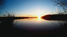 Lake sundown Footage