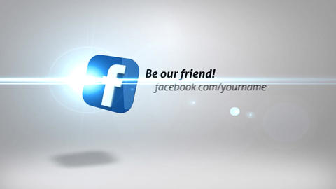 Social Network After Effects Template