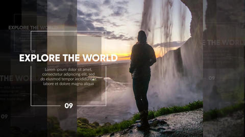 Slideshow - Modern Flow Promo After Effects Template