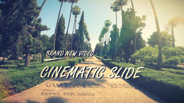 Cinematic Photo Slide After Effects Template