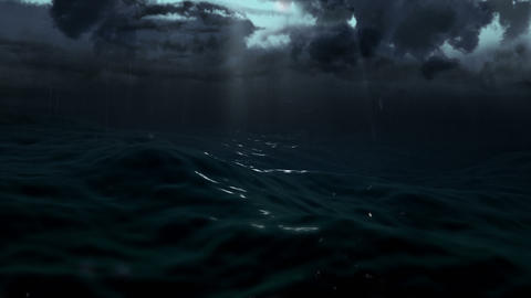 Dark Storm Sea 3 Animation
