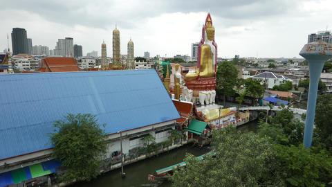 Wat Paknam river 영상물