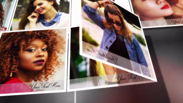 Multi photo image slideshow After Effects Template