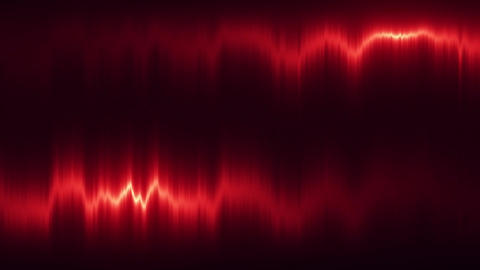 Red Vertical Distortion of Light VJ Loop Motion Background Animation