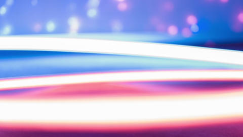 Red and blue blinking creative party lights, neon abstract light Footage