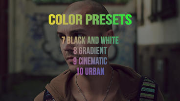 Color preset Premiere Pro Template