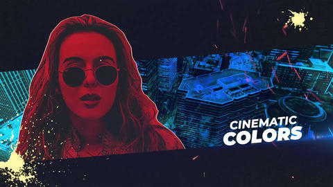 Cyber Punk Opener After Effects Template