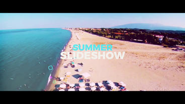 Summer Slideshow Premiere Pro Template