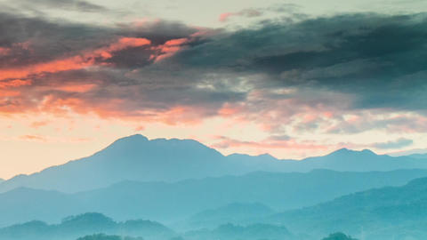 Mountains dan cloud timelapse-FHD-Z-1 ビデオ