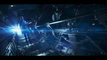 SCI FI TRAILER After Effects Template