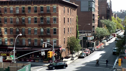 New York City 655 Chelsea buildings in West 19th street 10th Avenue Footage