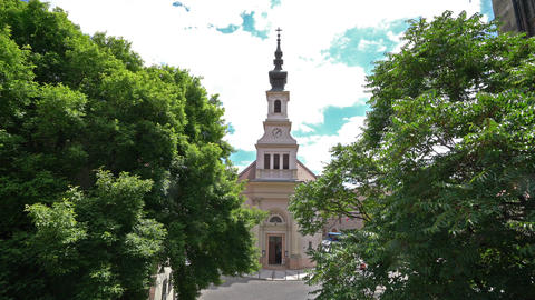 Lutheran Church in Budapest GIF