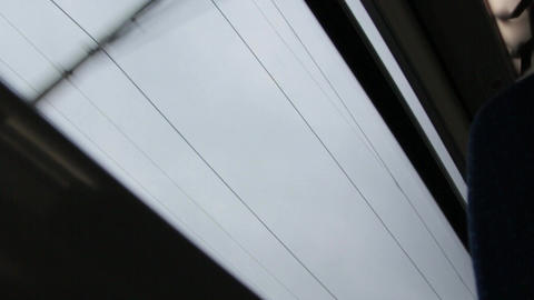 Electric Wires Speed Train Window GIF