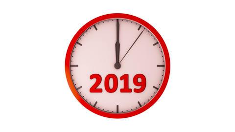 The clock 2019 Animation