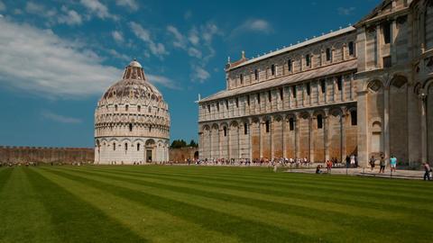 Battistero di San Giovanni, Pisa, Italy GIF