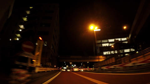 Road in Japan. Picture of running on Tokyo, the capital highway ビデオ