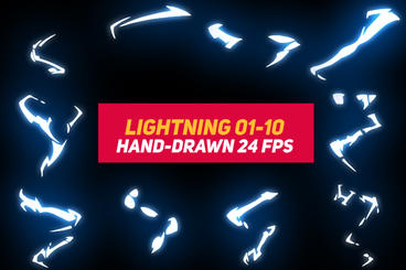 Liquid Elements 3 Lightning 01-10 After Effects Template