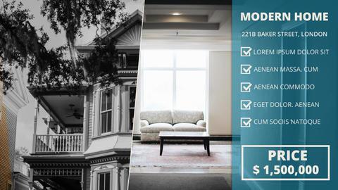 Minimal Estate Promo Premiere Pro Template