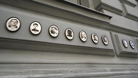 house of terror in Budapest GIF