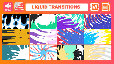 Liquid Transitions Pack Premiere Pro Template