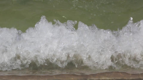 Detail of water movement in a fountain Live Action