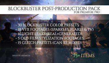 Blockbuster Post-Production Pack Premiere Pro Template