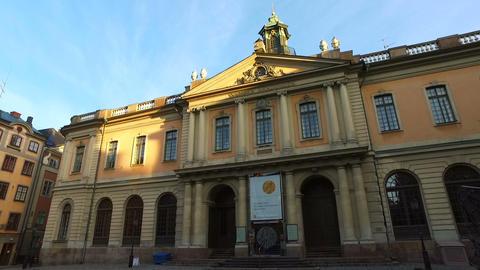 Nobel Prize Museum, Stockholm, Sweden Footage