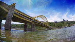 Fort Pitt Bridge Footage