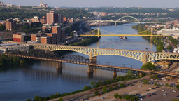 Pittsburgh Coal Barge Time Lapse Footage