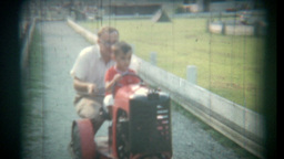Vintage Film Amusement Park Footage