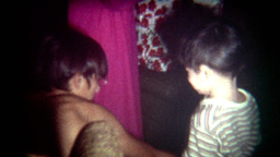 Vintage Film Christmas Morning Footage