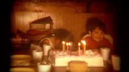 Vintage Film Birthday Party Footage