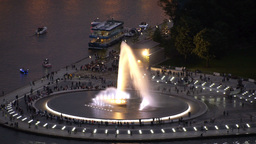 The Fountain in Pittsburgh Footage