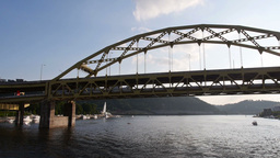 Fort Duquesne Bridge Footage