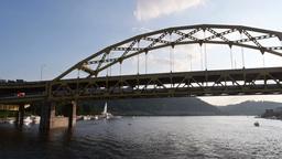 Fort Duquesne Bridge Footage