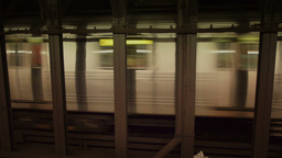 New York Subway Train Footage