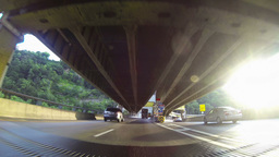 Fort Pitt Bridge and Tunnel Driving 2K Footage