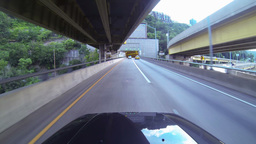 Fort Pitt Bridge and Tunnels Driving 2K Footage