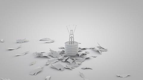 Light Bulb Smash Animation