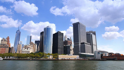 New York City Skyline Footage