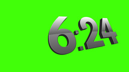 Green Screen Countdown Timer 3592 Footage
