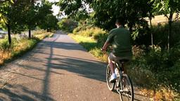 Extreme Slow Motion Bike Rider 3623 Footage