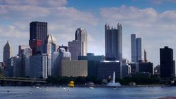 Pittsburgh Skyline Timelapse 3628 Footage