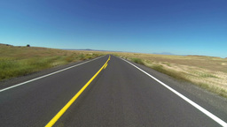 Desert Road Timelapse POV 3703 Footage