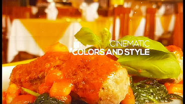 Restaurant and Cafe Intro After Effects Template