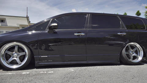 Japanese modified car Vip style custom Live Action